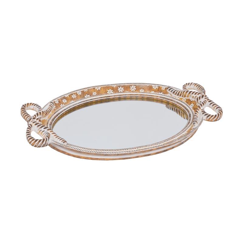 Δίσκος με καθρέφτη
