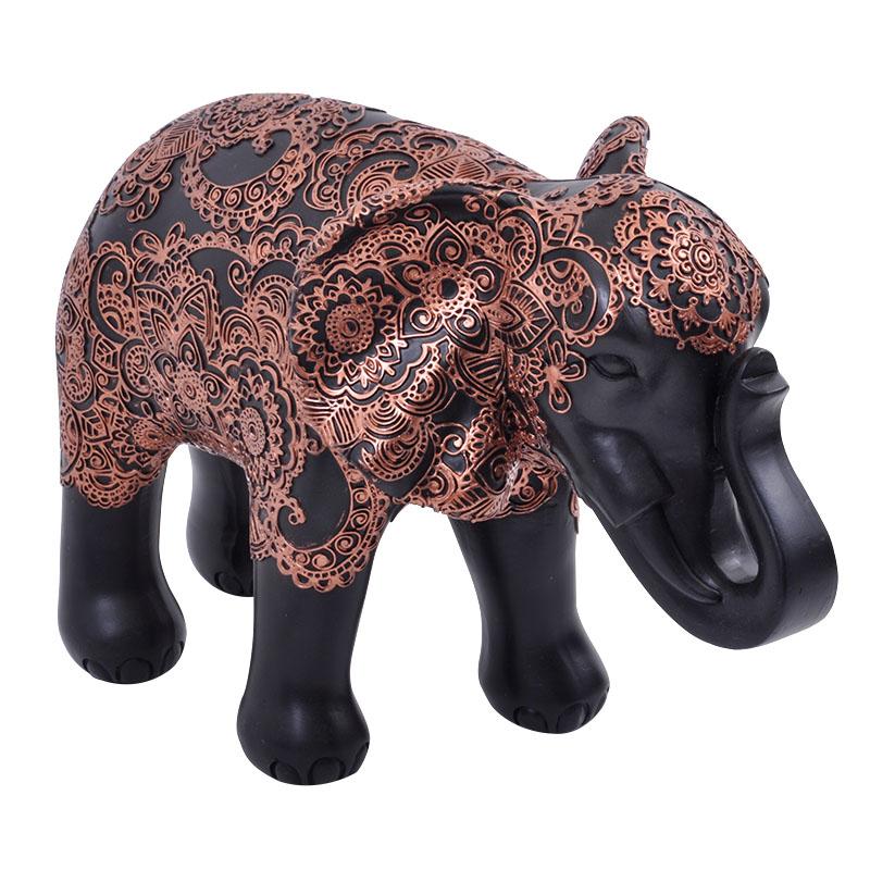 Ελέφαντας καφέ-μπρονζέ μεγάλος