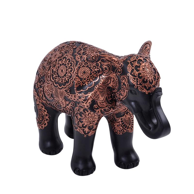 Ελέφαντας καφέ-μπρονζέ μικρός