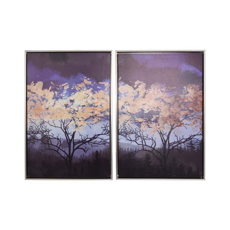 ΚΑΔΡΟ 1/2 TREES BLUE SKY 40*60