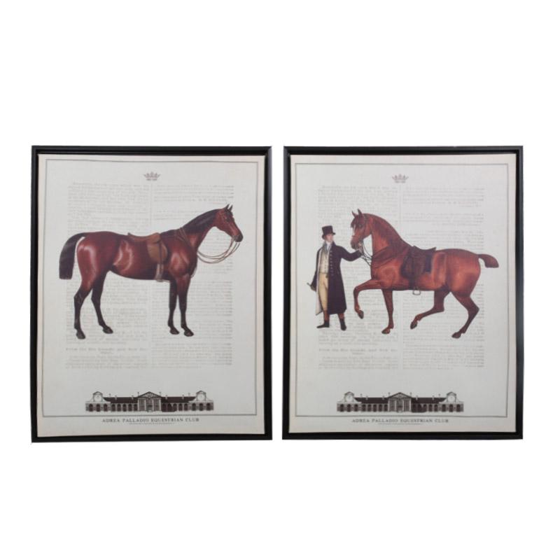 ΚΑΔΡΟ BROWN HORSE 1/2 40*50 555