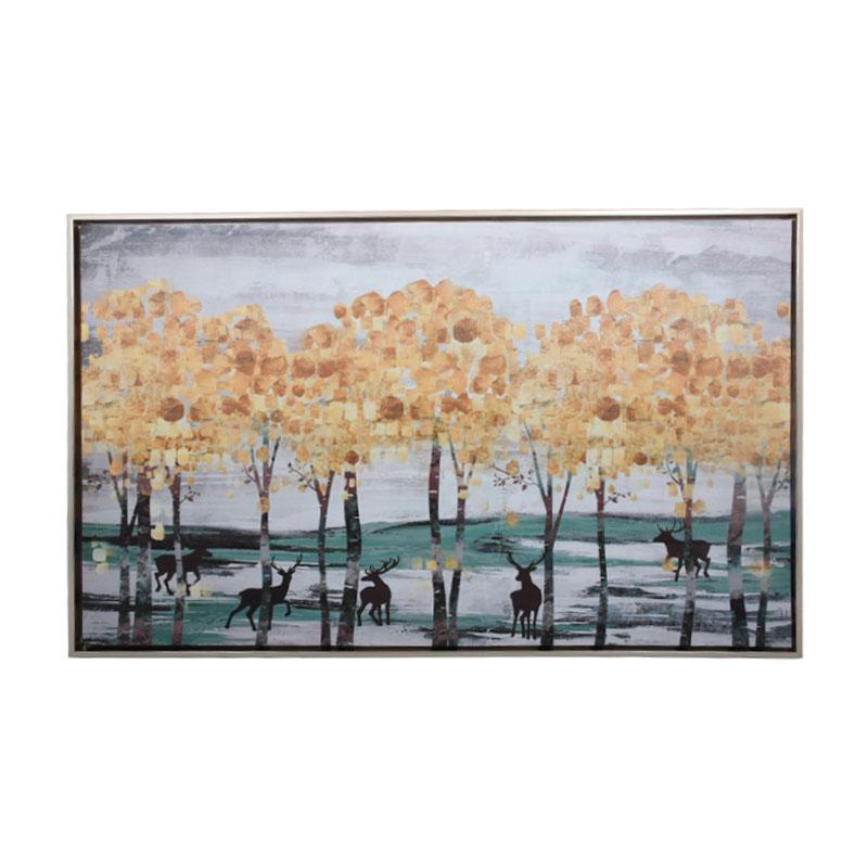 ΚΑΔΡΟ GOLD TREES 50*80 EF084-2