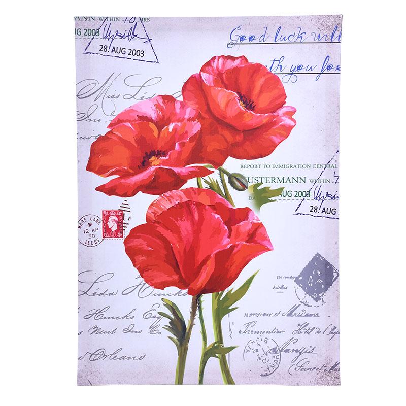 ΚΑΔΡΟ RED FLOWER Νο2 23078 50*70