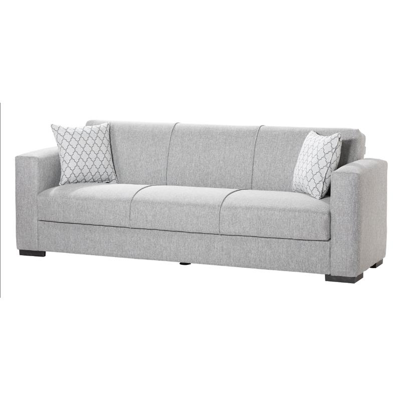 Καναπές 3 θέσιος Gracia αν.γκρι 222*89*84