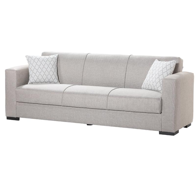 Καναπές 3 θέσιος Gracia μπεζ 222*89*84