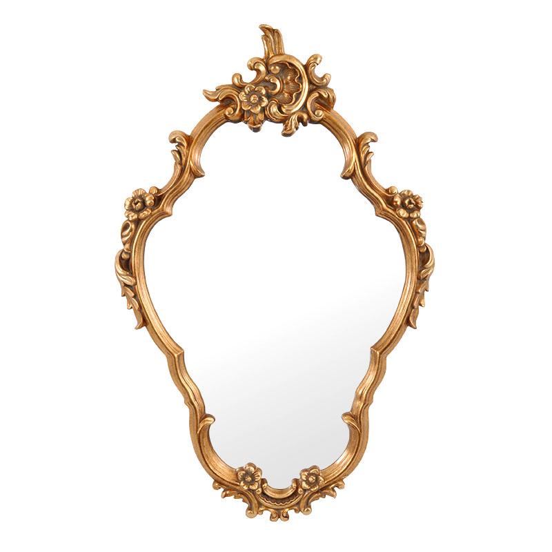Καθρέφτης αντικέ χρυσό FP-195