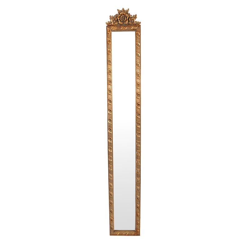 Καθρέφτης χρυσό αντικέ SZ-035