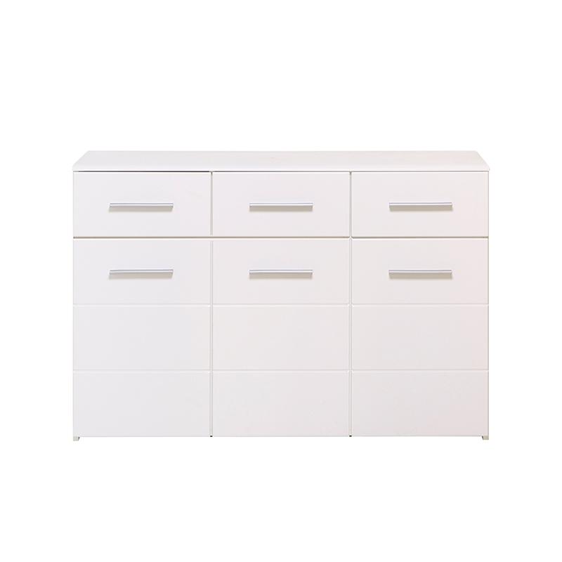 ΚΟΜΟΤΑ Lina 3K3F Λευκή-Λευκή Λάκκα 120*40*80.5