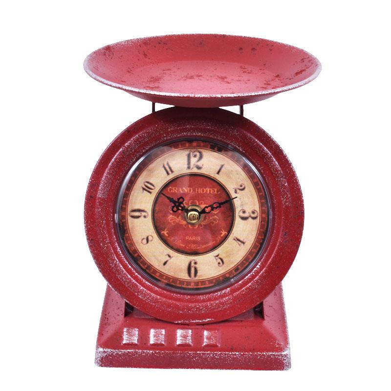 Μεταλλικό ρολόι επιτραπέζιο