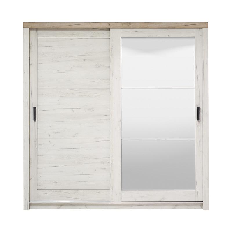 ΝΤΟΥΛΑΠΑ Kent 225 ΜΕ ΚΑΘΡΕΦΤΗ White Oak-Grey Oak 223.5*67*227