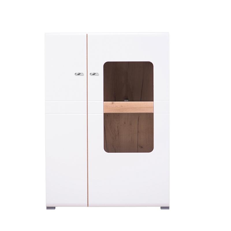 ΒΙΤΡΙΝΑ 2kVS1 Louis Golden Oak - Λευκή Λάκκα 87.5*35*124