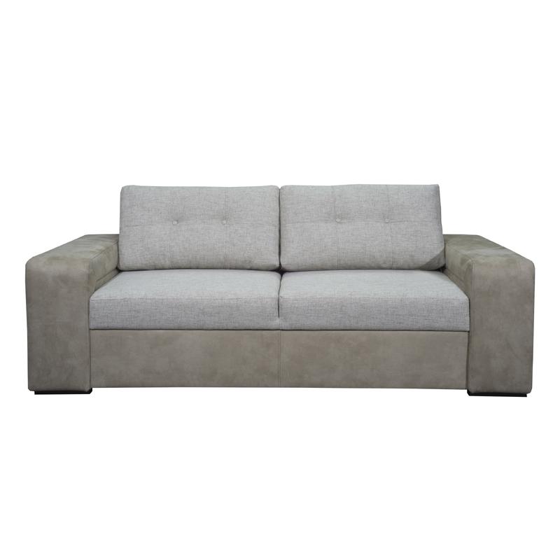 Καναπές τριθέσιος new ines μπεζ 202*100*85
