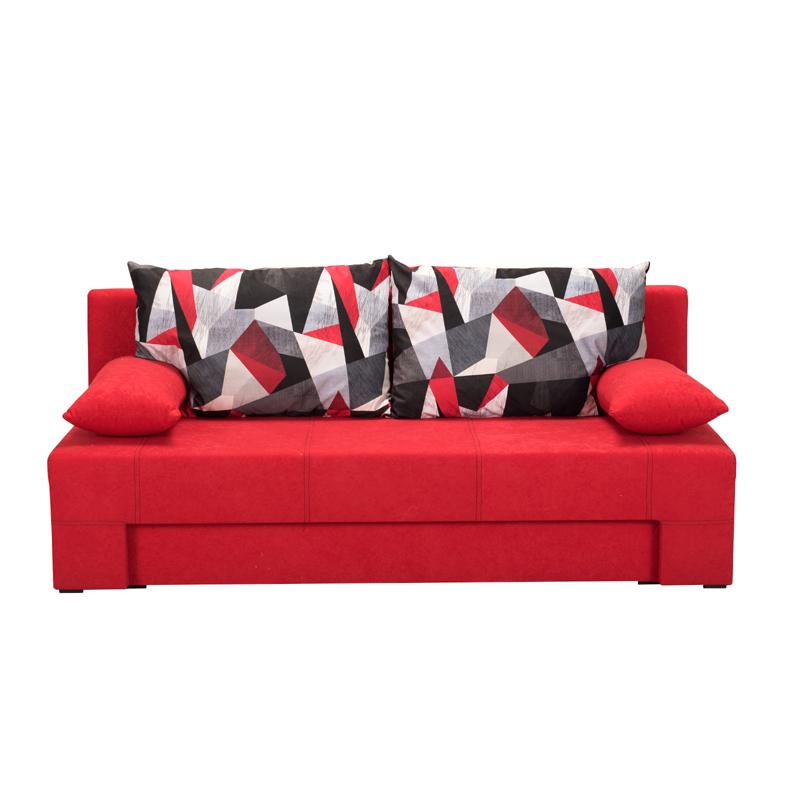 Καναπές κρεβάτι Teo κόκκινος 190,5*79*77