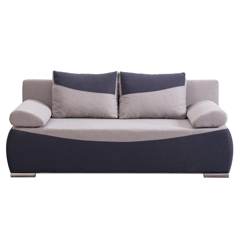 Καναπές Linda γκρι-σκούρο γκρί 204*98*81