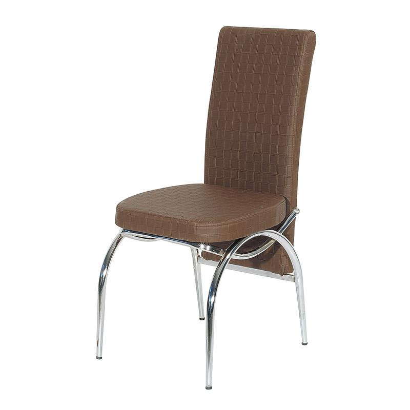 Καρέκλα τραπεζαρίας ibiza καφε 44*45*98
