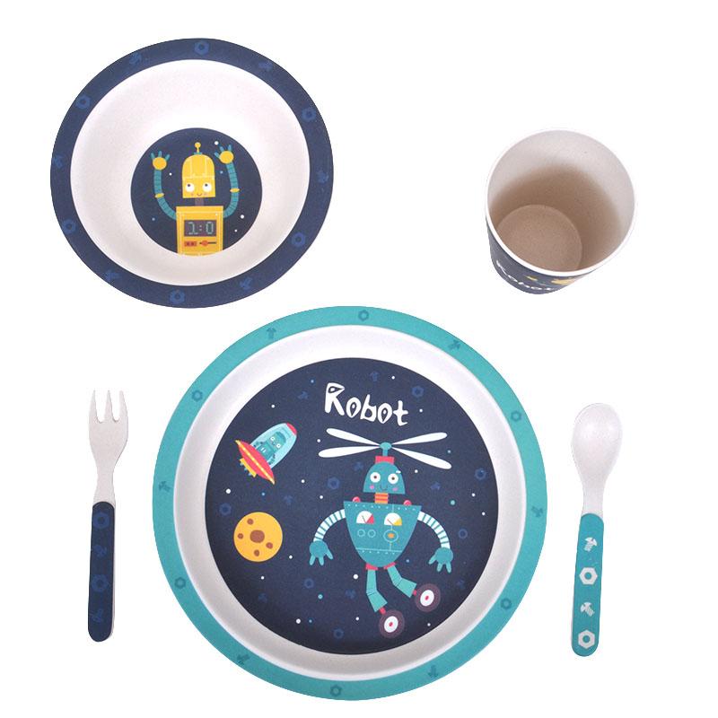 Παιδικό σετ φαγητού robot
