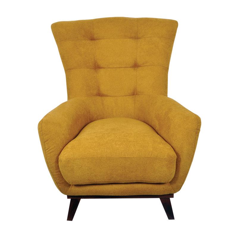 Πολυθρόνα 4you κίτρινο 92*80*100