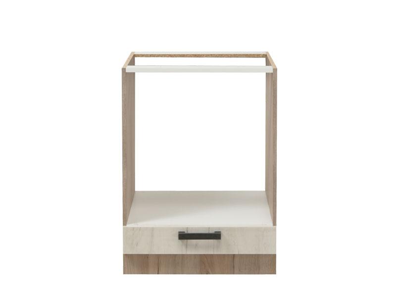 ΣΤΟΙΧΕΙΟ ΚΟΥΖΙΝΑΣ Kent D60 UR Grey Oak/Λευκό Oak 60*56.5*82