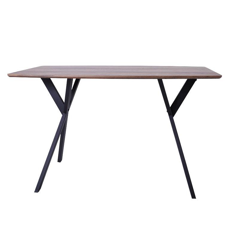 Τραπέζι τραπεζαρίας καρυδί 120*70