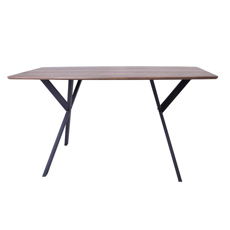 Τραπέζι τραπεζαρίας καρυδί 160*90