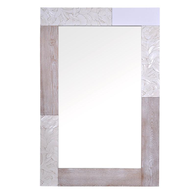 Ξύλινος καθρέπτης ορθογώνιος